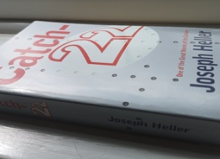 Side View of the Book Cover of Catch 22