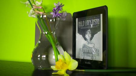 Kindle version of Falling in Love with Hominids by Nalo Hopkinson