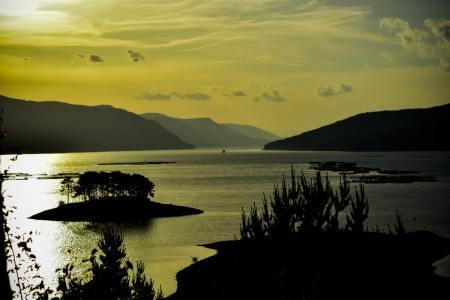 Lake Dospat, Bulgaria